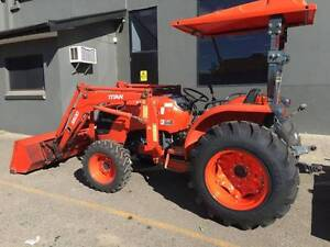 Kubota Tractor. Ex Condition. MX5100D with Front End Loader Dural Hornsby Area Preview