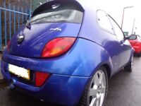 53 reg top spec ford ka 1.6sport only 60k miles+full leather good runner needs tlc spares or repairs