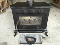 COUNTRY KILN 33 STOVE FROM COUNTRY KILN RANGE OF MULTI FUEL WOOD BURNING STOVES