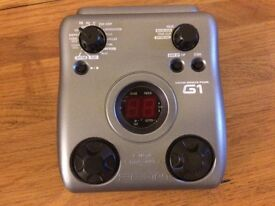 Zoom G1 Guitar Multi-Effects Pedal