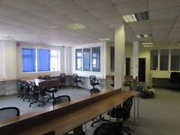 Large open plan office space for rent