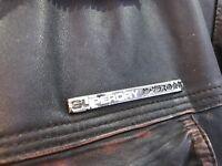 Superdry men's medium leather jacket