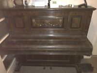 Upright piano, needs retuning and TCL, person interested to transport
