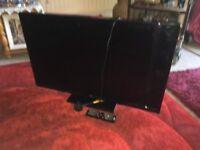 40 Inch Bush TV flat screen Black