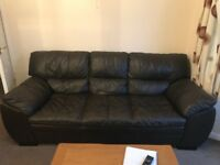 Three and Two Seater Leather Sofa for sale, really in very good condition.