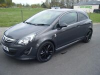 2013 VAUXHALL CORSA 1.3 CDTI DIESEL LTD EDITION FSH SPORTY LITTLE CAR £20 ROAD TAX 55 MPG