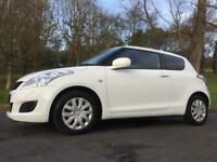 LATE 2012 SUZUKI SWIFT 1.2 SZ2 3DR*ONLY 49K!LOW INS&£30 TAX!MINT!BARGAIN!fiesta,corsa,clio,ds3,ka