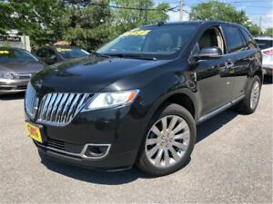 2014 Lincoln MKX AWD LEATHER NAVIGATION PANORAMA ROOF