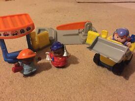 Little People work station bundle