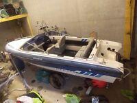Fletcher Bravo 17ft Speed Boat