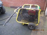 Karcher 1050 De Cage Cold Water Diesel Electric Start Pressure Washer