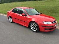 SAAB 93 1.9 T.i.D VECTOR SPORT # SALOON # 6 SPEED # LEATHER INTERIOR # ALLOYS # CRUISE CONTROL