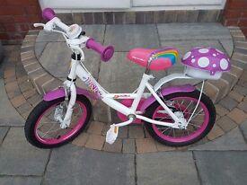 Apollo Pixie girls bike.