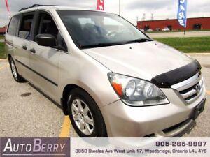 2005 Honda Odyssey LX *** CERTIFIED ** 7 PASSENGER *** $5,999