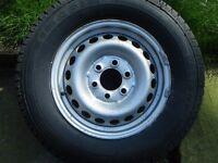 Sprinter crafter steel wheel new tyre 235 / 65R16C