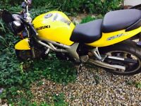 SUZUKI SV 650 MOTORBIKE FOR REPAIR