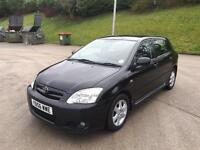 **TOYOTA COROLLA COLOUR COLLECTION 1.4 PETROL BLACK 5DR (2007 YEAR)**