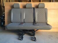 VW T5 Triple Folding Rear Seat