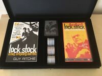 RARE Limited Edition Collectors Lock Stock & Two Smoking Barrels Video Boxset