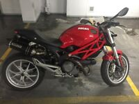 2010 Ducati Monster 1100M in very good condition