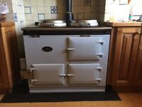 Gas fired aga 2 door (oil conversion) good condition