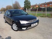 FORD MONDEO 1.8 ZETEC (Black) Very clean both inside & out, excellent drive