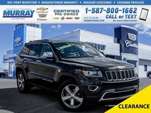 2014 Jeep Grand Cherokee **AC!  Sunroof!**