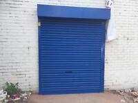Roller shutters& shopfront