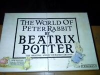 1987 edition of THE WORLD OF PETER RABBIT. By Beatrix Potter. Original edition!