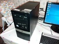 HP PC Tower and mouse and keyboard