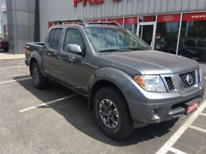 2017 Nissan Frontier PRO-4X, NAV, Leather, Sunroof, Loaded