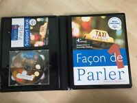 Learn French book and CD pack