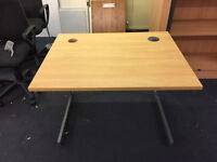 professional office rectangle desk 100cm length