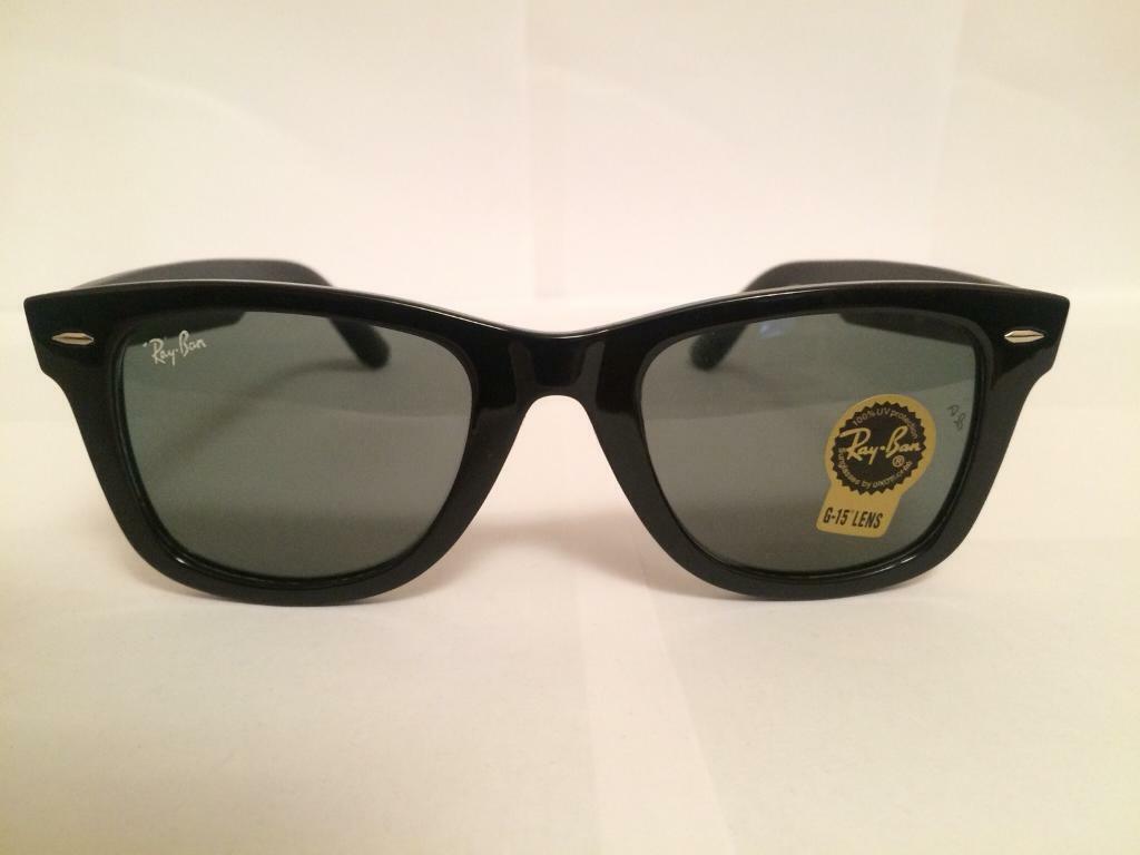 c3461da76d4 RayBan Wayfarer Sunglasses RB2140 (gloss black)