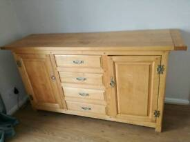 Solid Maple Sideboard with dovetail joints