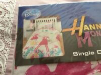 8 DISNEY SINGLE DUVET SETS , NEW AND UNOPENED.