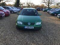 2001 Volkswagen Bora 1.6 1 Years MOT 1 Former Keeper Low Milage 2 Keys Cheap Car