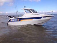 raider 18 fisherman not warrior shetland seahog fishing boat