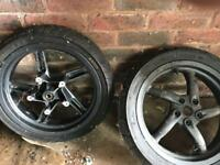 Gilera DNA scooter wheels