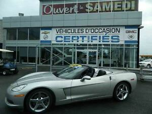 2008 Chevrolet Corvette DÉCAPOTABLE + NAVIGATION