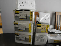 QUANTITY OF NEW HOUSEHOLD ELECTRICAL FITTINGS