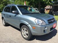 2008 Hyundai Tucson NO ACCIDENT - CERTIFIED & WARRANTY INCLUDED
