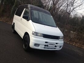 MAZDA BONGO 2.5TD CAMPER/MPV DAY VAN/LOW MILES/BRAND NEW KITCHEN LOW LEVEL COOLANT ALARM/VW T4 T5