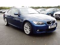 2007 bmw 320d coupe M-SPORT only 82000 miles, motd august 2018 lovely example all cards welcome