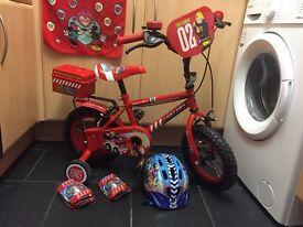 """12"""" fireman bike"""