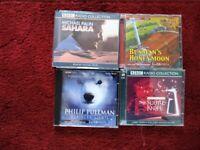 AUDIO BOOKS BY PHILIP PULLMAN, MICHAEL PALIN & DOROTHY SAYERS
