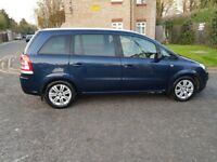2012 Vauxhall Zafira 1.7 TD Excite 5dr Manual @07445775115