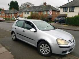 Vw golf mk 5 1.9 tdi 1 owner from new 155k long mot