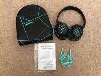 Bose SoundTrue around-ear headphones (Black/Mint)