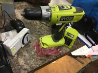 Ryobi drills with battery